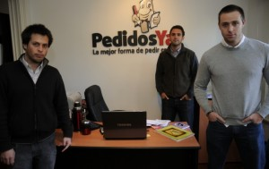 Monkeys with Ties? The entrepreneurs behind successful South American start-up PedidosYa! (where's the suit?!)
