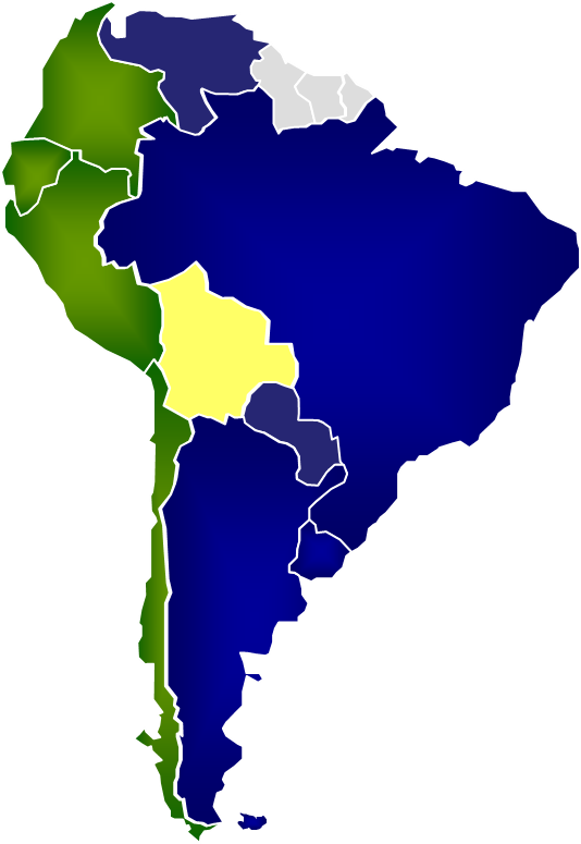 Mercosur members (from www.mercosur.int)