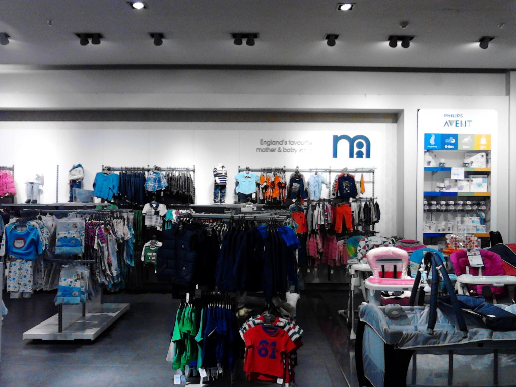 Mothercare (Santiago de Chile, department store concession)