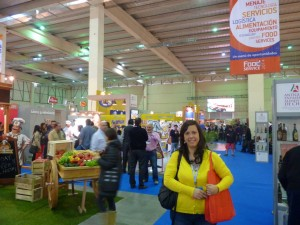 At Espacio Food Service, trade show. Santiago de Chile, 2014.