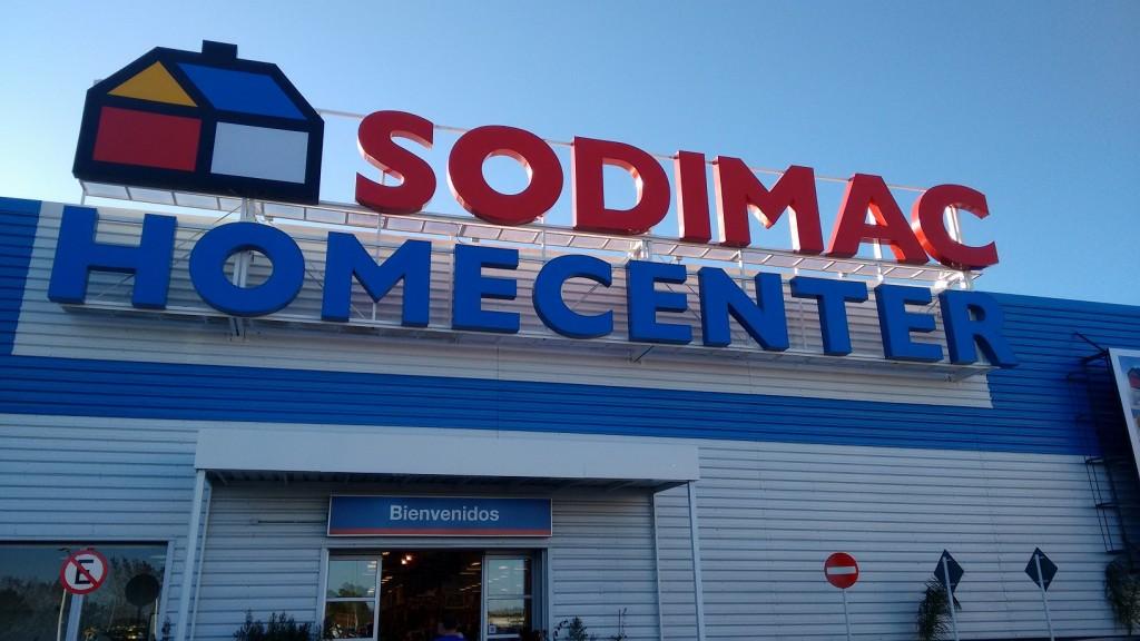 Sodimac from chile to uruguay sunny sky solutions for Sodimac terrazas chile