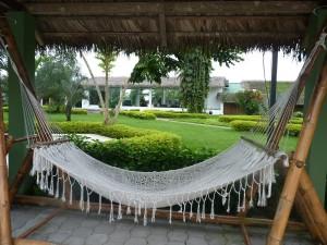 My hotel in Santo Domingo, Ecuador, 2014. It's a tough job, but someone's got to do it.