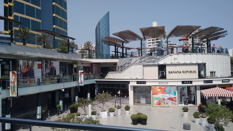 Shopping centre in Lima, from a trip earlier this year.