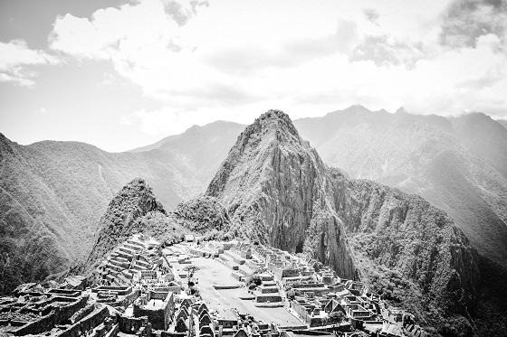 My take on Machu Picchu. Once the centre of the world, according to the Incas.
