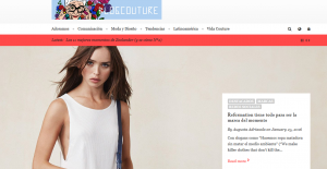 Blog Couture, Uruguay/region - to find about branding, retail, events, beauty and more.