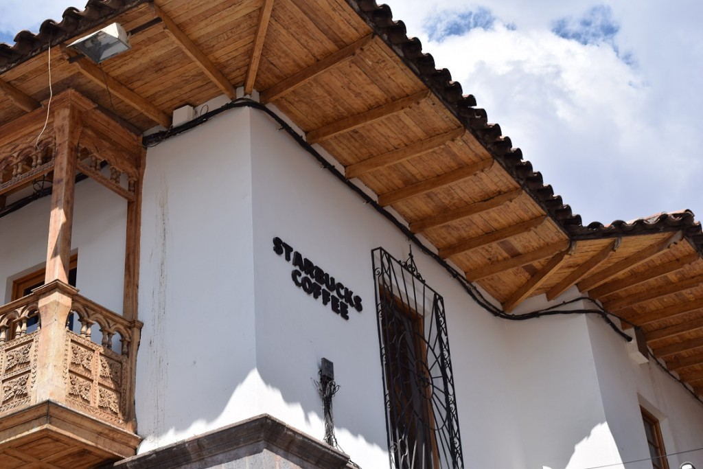 Spot ya! Starbucks in Cusco.