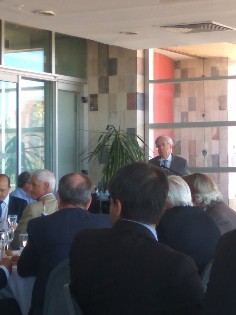 Uruguay Minister of Finance, Danilo Astori, at a recent event we attended in Montevideo.