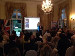 PWC present UK-Uruguay trade study (interim). Photo: British Embassy, Montevideo