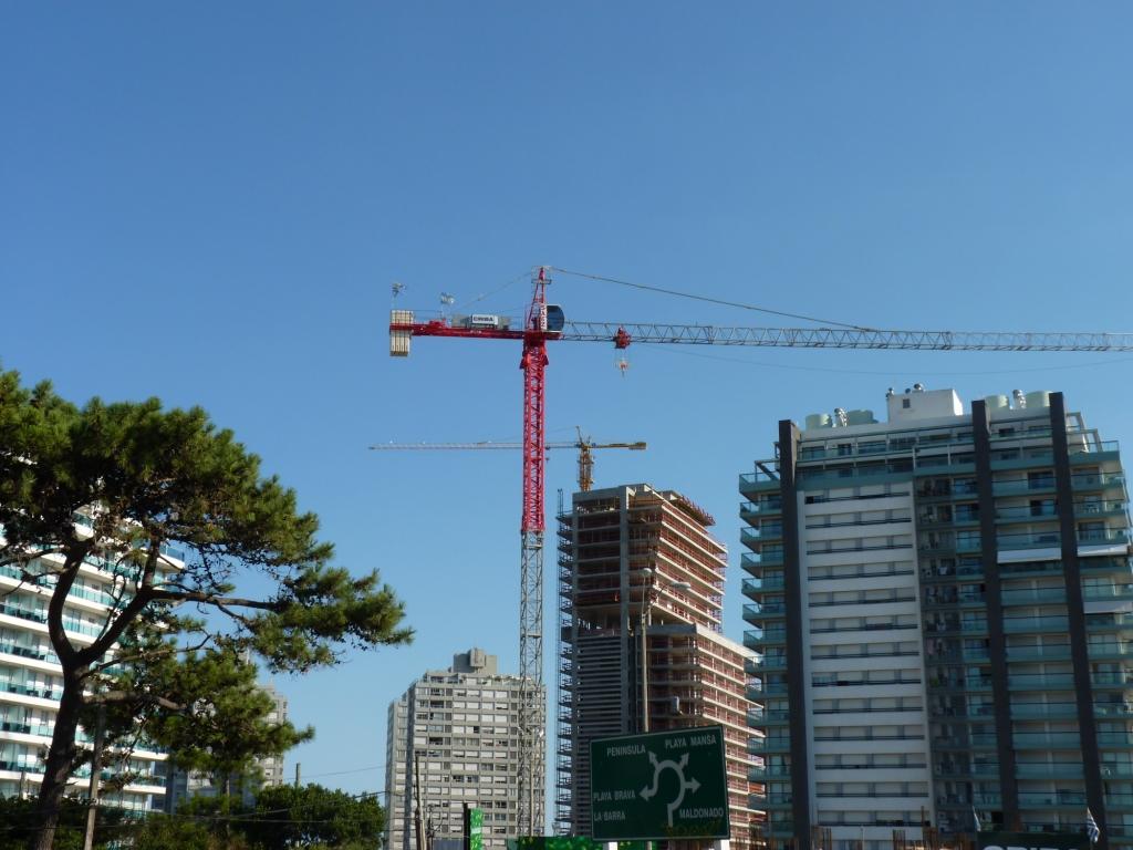 Building Punta del Este, Uruguay.