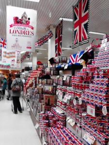 British goodies in Uruguay.