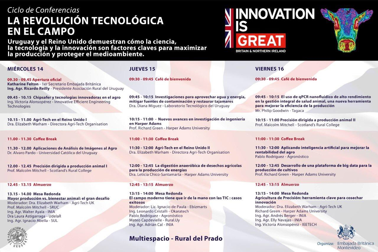 British Experts at ExpoPrado 2016