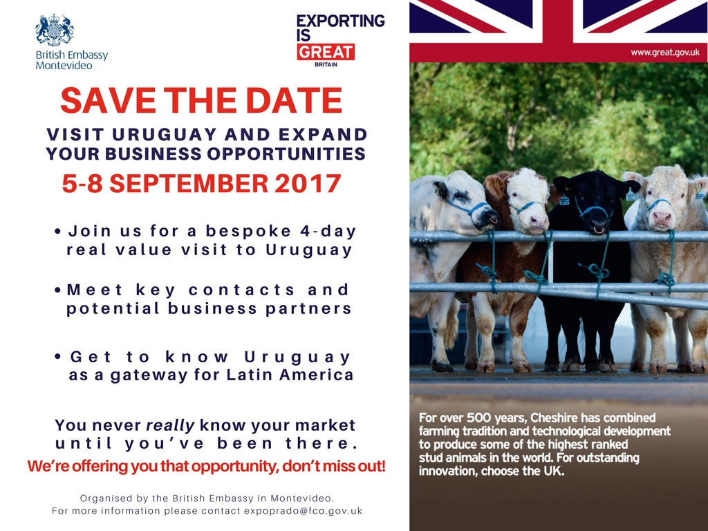 Save the date UK - Expo Prado 2017