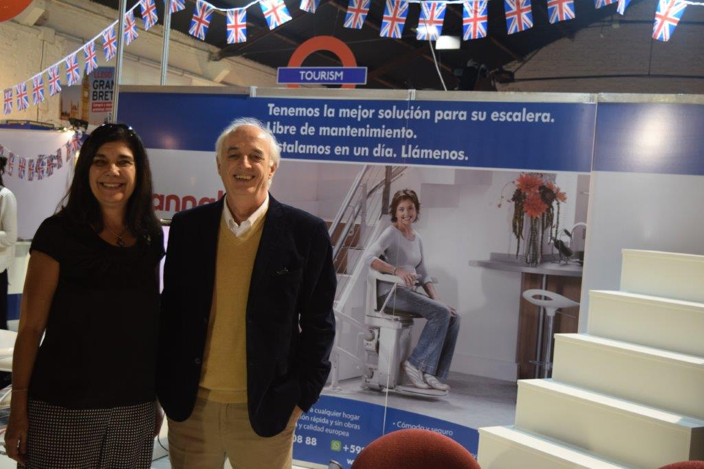 Our client Stannah Stairlifts, also present, for the first time, at ExpoPrado, as they start expanding into Uruguay with a local distributor.