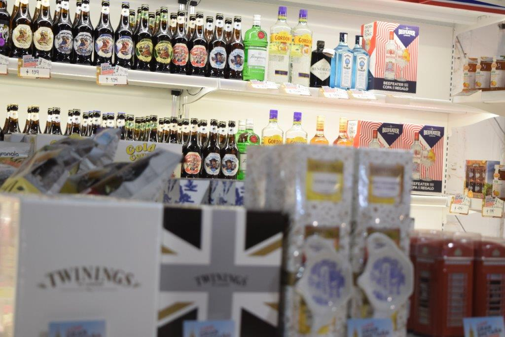 British food and drink at ExpoPrado 2018 in Uruguay - permits are usually easier if importing for a one-off event, such as this one